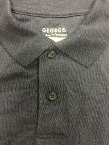 George School Uniform Boys Short Sleeve Performance Polo Shirt Size color option