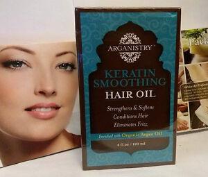 Image Is Loading New Arganistry Keratin Smoothing Hair Organic Argan Oil
