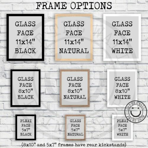 Frame Options Black Crappie Freshwater Fishing Hook Lure Patent Art Print Size