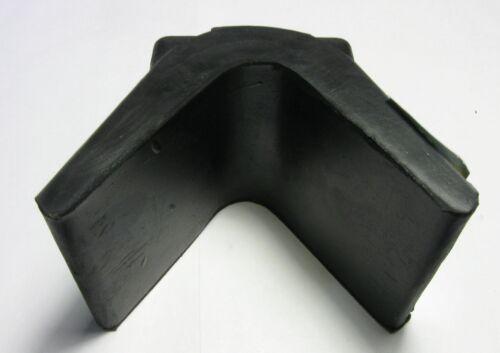 "Shoreline Marine SL52317 Bow Stop Rubber 3/"" X 3/""  Black"