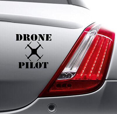 DRONE PILOT STICKER Car Bumper Van Window Laptop JDM VINYL DECALS STICKERS