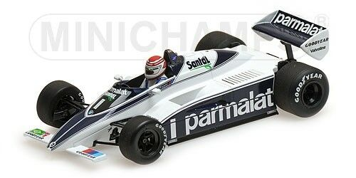 Minichamps 417820001 - BRABHAM BMW BT50 – NELSON PIQUET – 1982 1/43 | Brillance De Couleur