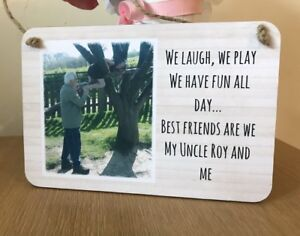 Personalised-Wooden-Sign-Plaque-Photo-Gift-Uncle-Grandad-Dad-Daddy-Chic