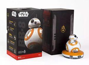 New Star Wars La Force Awakens Sphéro Bb-8 App-Droid activée
