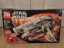 LEGO Star Wars SLAVE I 6209 Boba Fett Dengar Han Solo Carbonite Sealed Set Rare