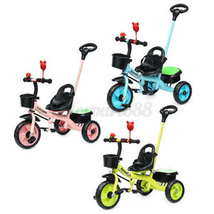 2-in-1-Baby-Toddler-Walker-Kids-Trike-Tricycle-Bike-Children-Bicycle-3-Wheel-AU