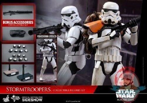 1 6 Star Wars Rogue One Stormtroopers Movie Masterpiece MMS 394 Hot Toys 902875