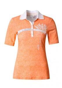 suche nach original erstklassig Top Marken Details zu Sportalm Kitzbühel Damen Polo-Shirt T-Shirt Pearl Grass UvP:  €149,90