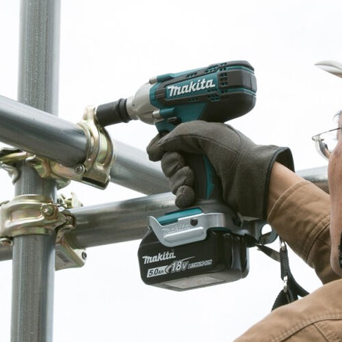 """Makita DTW190Z 18V LXT 1//2/"""" Square Impact Wrench with 1 x 5.0Ah BL1850 Battery"""