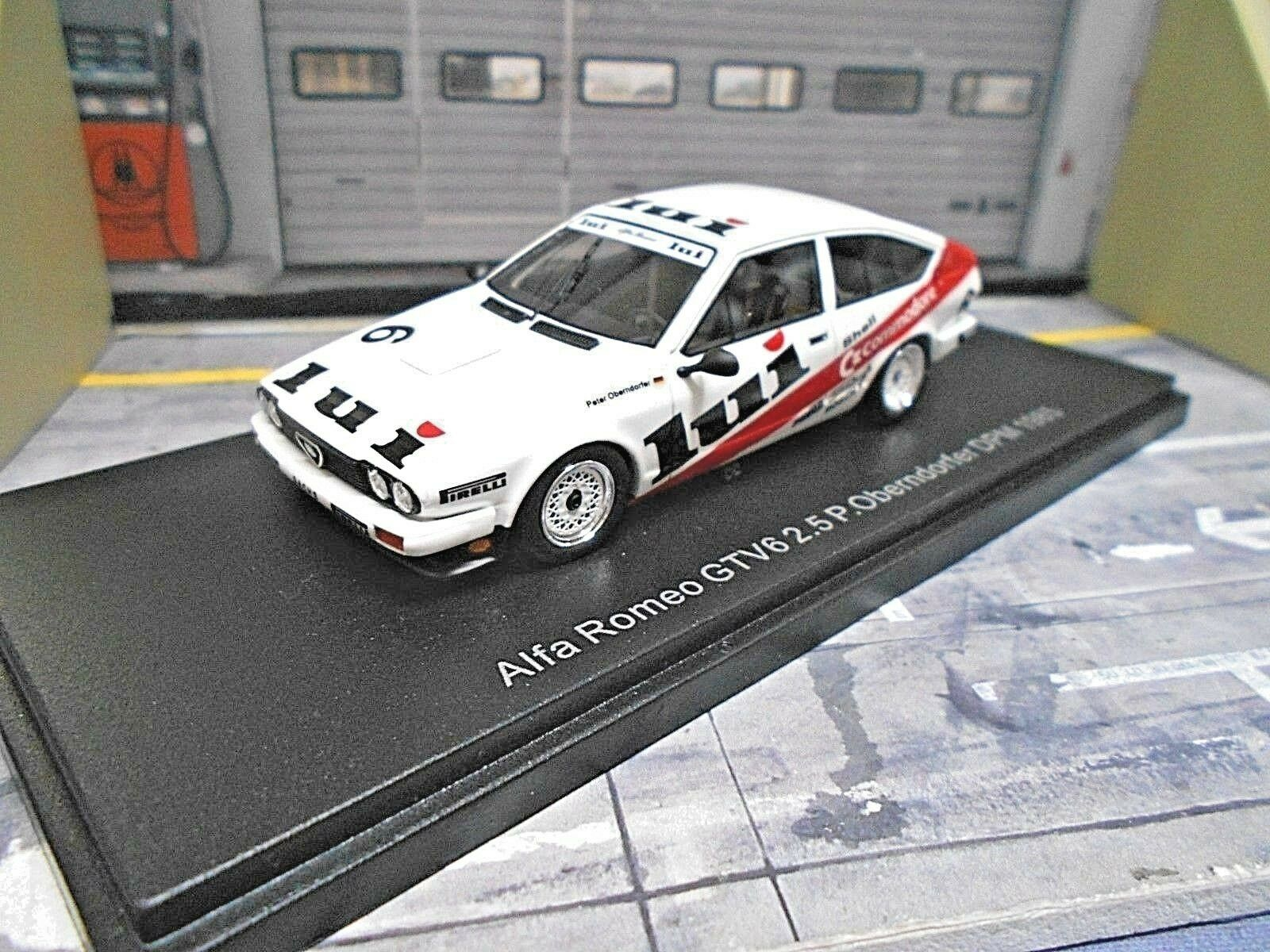 Alfa Romeo gtv6 2.5 DRM DPM  6 Oberndorfer 1985 Commodore spécifiant NEO Resin neuf 1 43