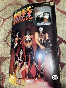 1978 Kiss ACE FREHLEY Doll Mego ORIGINAL BOXED  - RARE VINTAGE NICE NIB