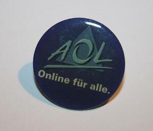 AOL-PIN-Anstecker