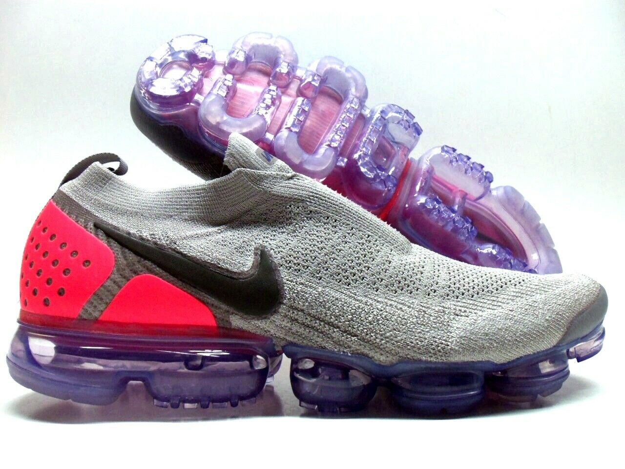 32286310beb NIKE AIR VAPORMAX FK MOC 2 MOON PARTICLE SOLAR RED SIZE MEN S 14  AH7006-