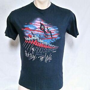 8145b726 VTG 1982 Pink Floyd The Wall T Shirt 80s Tour Concert Original Who ...