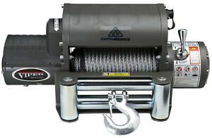 VIPER-Winch-12000lb-Steel-cable-wireless-remote-integrated-contactor