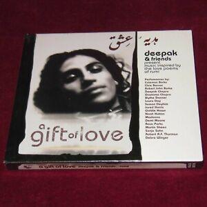Details About Brand New 98 Deepak Chopra Friends A Gift Of Love Madonna Rumi Poems Cd Album