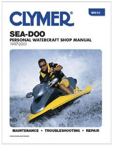 1997 98 1999 2000 2001 sea doo repair manual xp gs gsi gsx hx lrv rx rh ebay com 1997 Seadoo Speedster 1997 Seadoo GS