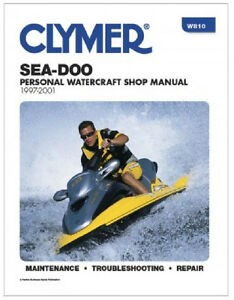 1997 98 1999 2000 2001 sea-doo repair manual xp gs gsi gsx hx lrv.