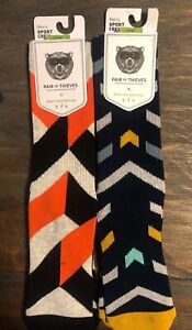 2-Pack-of-Mens-Pair-of-Thieves-Sport-Socks-Size-8-12