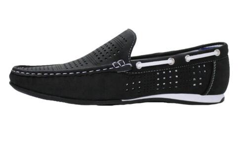 Mocassins Diamond À Casual Été Enfiler Basses Homme Chaussures Noir 76gbfYy