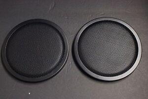 "2 Speakers cover 8"" DJ Car Speaker Steel Mesh Sub Woofer Subwoofer Grill  Cover | eBay"