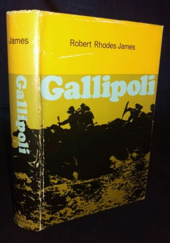 Gallipoli by Robert Rhodes James Hardback, 1965 1ST EDITION
