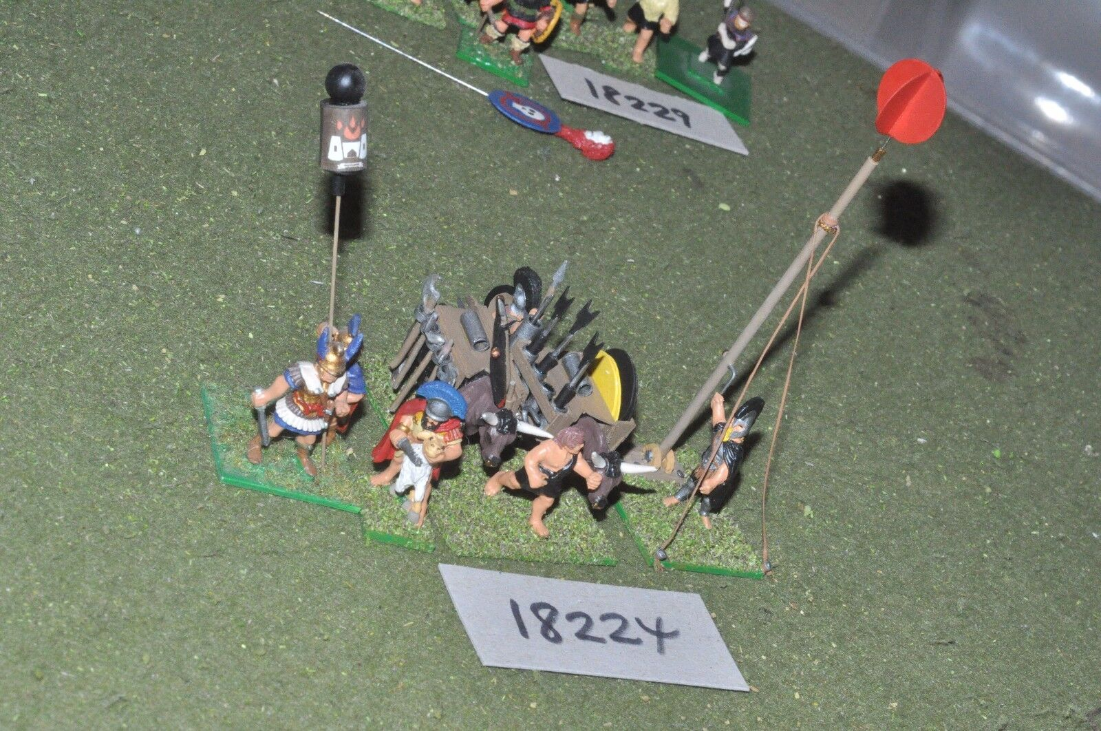 25mm classical   greek - ancient signal unit - inf (18224)