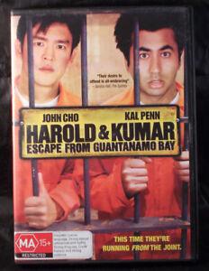 Harold-amp-Kumar-Escape-From-Guantanamo-Bay-John-Cho-Kal-Penn-DVD-Region-4