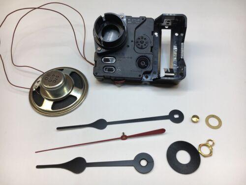 "Seiko Quartz Clock Movement Dual Chime Westminster Whittington 1 1//16/"" Shaft"