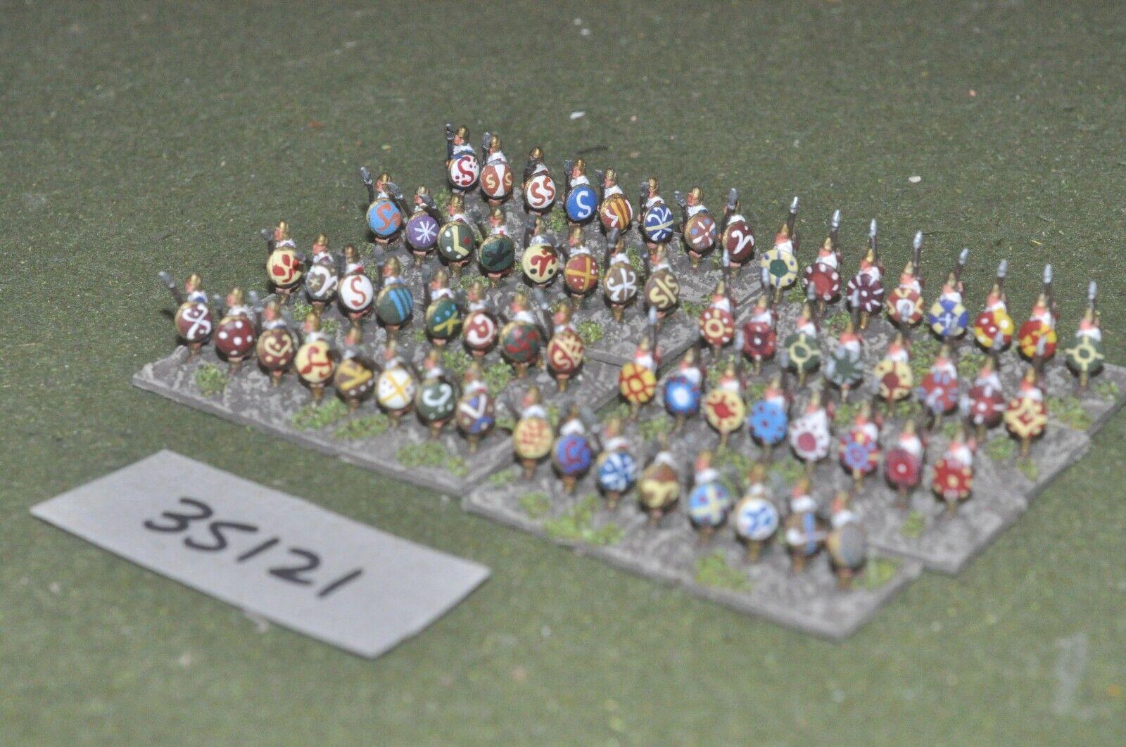 10mm roman era   carthaginian - spearmen 64 figures - inf (35121)