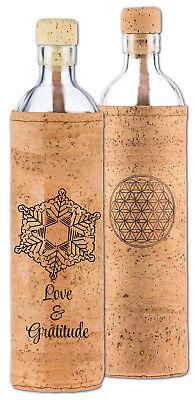 Pflichtbewusst Flaska Trinkflasche Spiritual Kork 0,75 L Kork Von Flaska Kann Wiederholt Umgeformt Werden.
