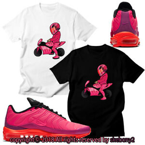 0b024fe3b663a Details about CUSTOM T SHIRT matching NIKE AIR MAX 97 Plus Racer Pink AM97  1-2-7