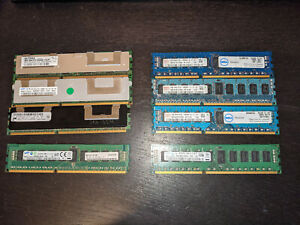 Lot mémoire serveur ram 4gb (8)