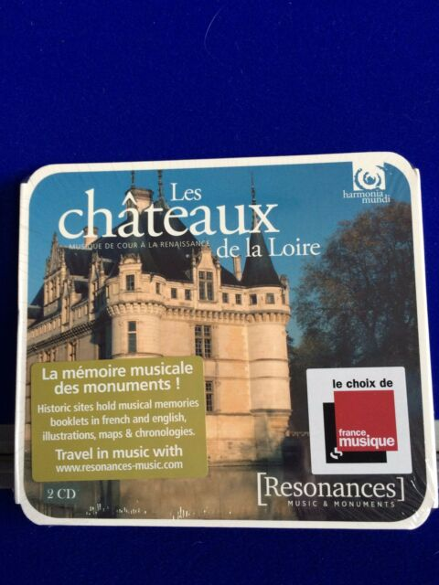 NEW SEALED Music in the Châteaux of the Loire (2016) 2 CD