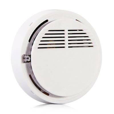 433MHZ Wireless Smoke Sensor Detector Home Security Alarm System with Battery 9V