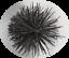 thumbnail 1 - CFC024 150mm/6 inch dia Black Polypropylene Flue Brush 200mm long