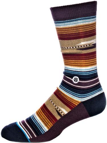 Calza Uomo Marrone Stance Men Athletic Socks Combed Cotton Medium Cushion Brown