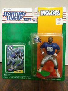 RARE HTF Cortez Kennedy 1994 Starting Lineup NFL Seahawks deceased NEW VINTAGE