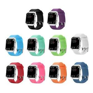 Replacement-Silicone-Rubber-Band-Strap-Wristband-Bracelet-For-Fitbit-Blaze