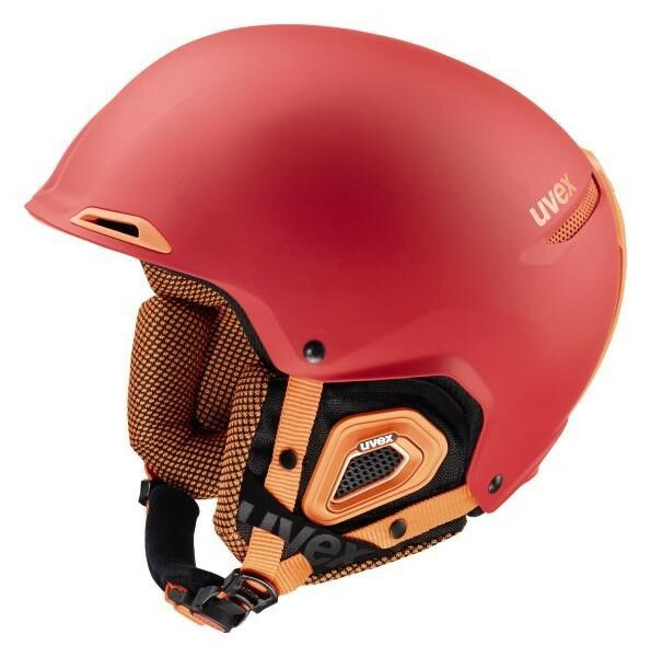 Uvex Jakk + Octo + Red orange Mat Ski Helmet Snowboard Winter Sports 16 17