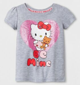 Hello kid Top size 2T 4T heart valentine