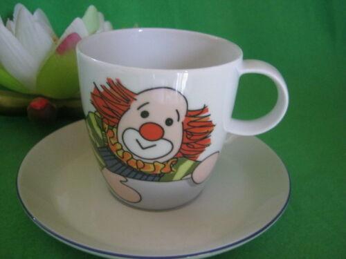 Kaffeetasse 2 tlg Clown Designer Sigikid von Thomas