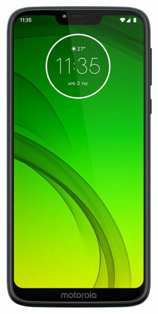 Motorola Moto G7 Power 32gb Marine Blue Unlocked Single Sim For Sale Online Ebay
