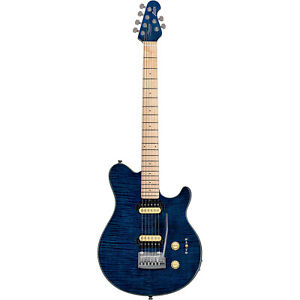 STERLING by MUSICMAN-AXIS BLUE PREMIER DEALER- BUNDLE WOW- THINK EVH WOLFGANG