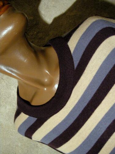 Vintage Stripe 1980 44 80s Righe 42 Chic Abito Vestito A Kleid 80er YwSYrq