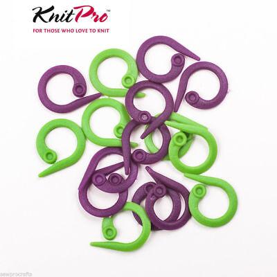 KnitPro Locking Stitch Ring Knitting Markers