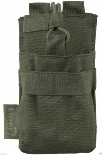 VIPER Tactical GPS Radio MOLLE tessitura in Pouch Sistema modulare Kit Security Police