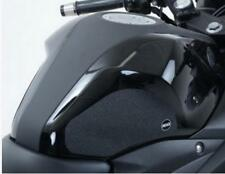 R&G BLACK 'EAZI-GRIP' FUEL TANK TRACTION GRIPS for YAMAHA MT-25, 2015 to 2017