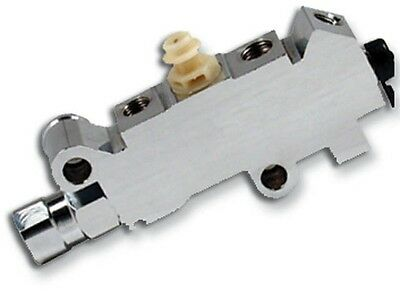 Chevy, Ford CHROME Prop Proportioning Valve, Disc/Disc MBM PV4C