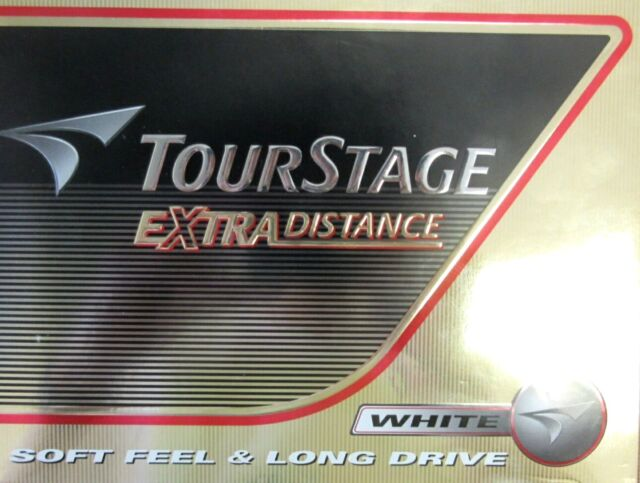 NEW BRIDGESTONE TOURSTAGE EXTRA DISTANCE Ball White 1 Dozen Imported from Japan